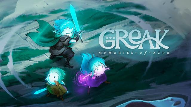 Greak: Memories of Azur tem demo disponibilizada na eShop do Switch