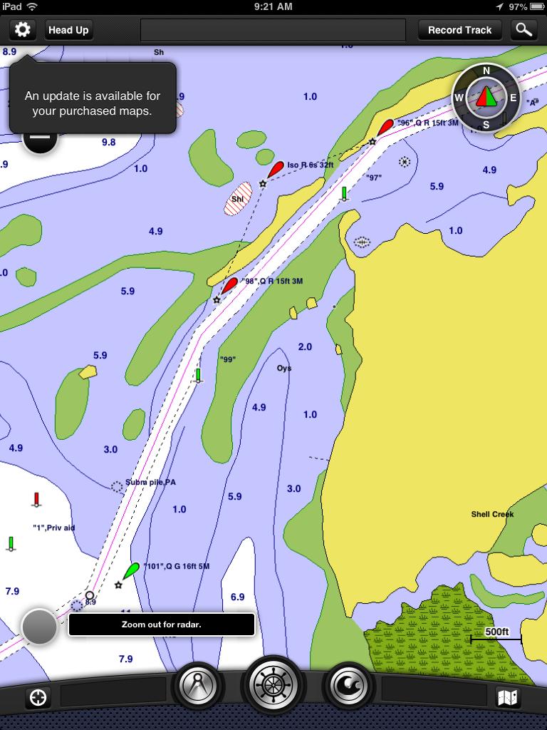 i-Marine Apps: Garmin BlueChart Mobile Chart Updates