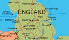 Peta Inggris