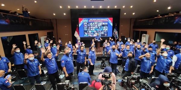 Setelah DPD, AHY Gaspol Apel Siaga Bareng 514 Ketua DPC Demokrat