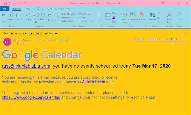 Viral reminder / my calendar is empty / no events today. // #haiku #micropoetry