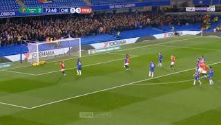 اهداف مباراة مانشستر يونايتد وتشيلسي (2-1) كاس الرابطة الانجليزية