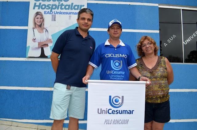 Ciclista roncadorense Marcelino Karaz ganha novo patrocinador