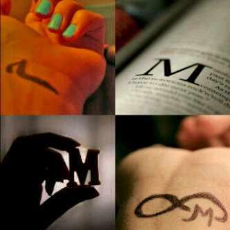 رمزيات حرف M صور حرف ميم صبايا كيوت
