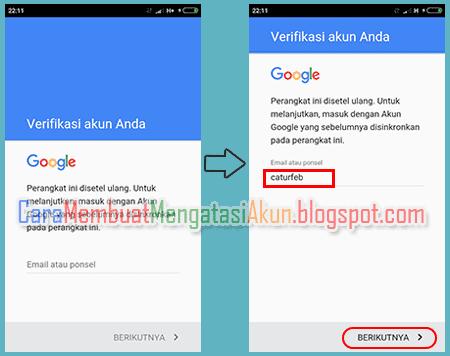 cara mengatasi gagal login akun google di android