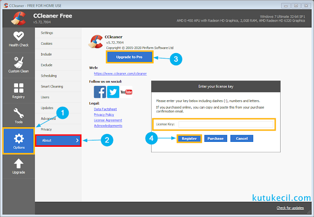 cara install ccleaner pro