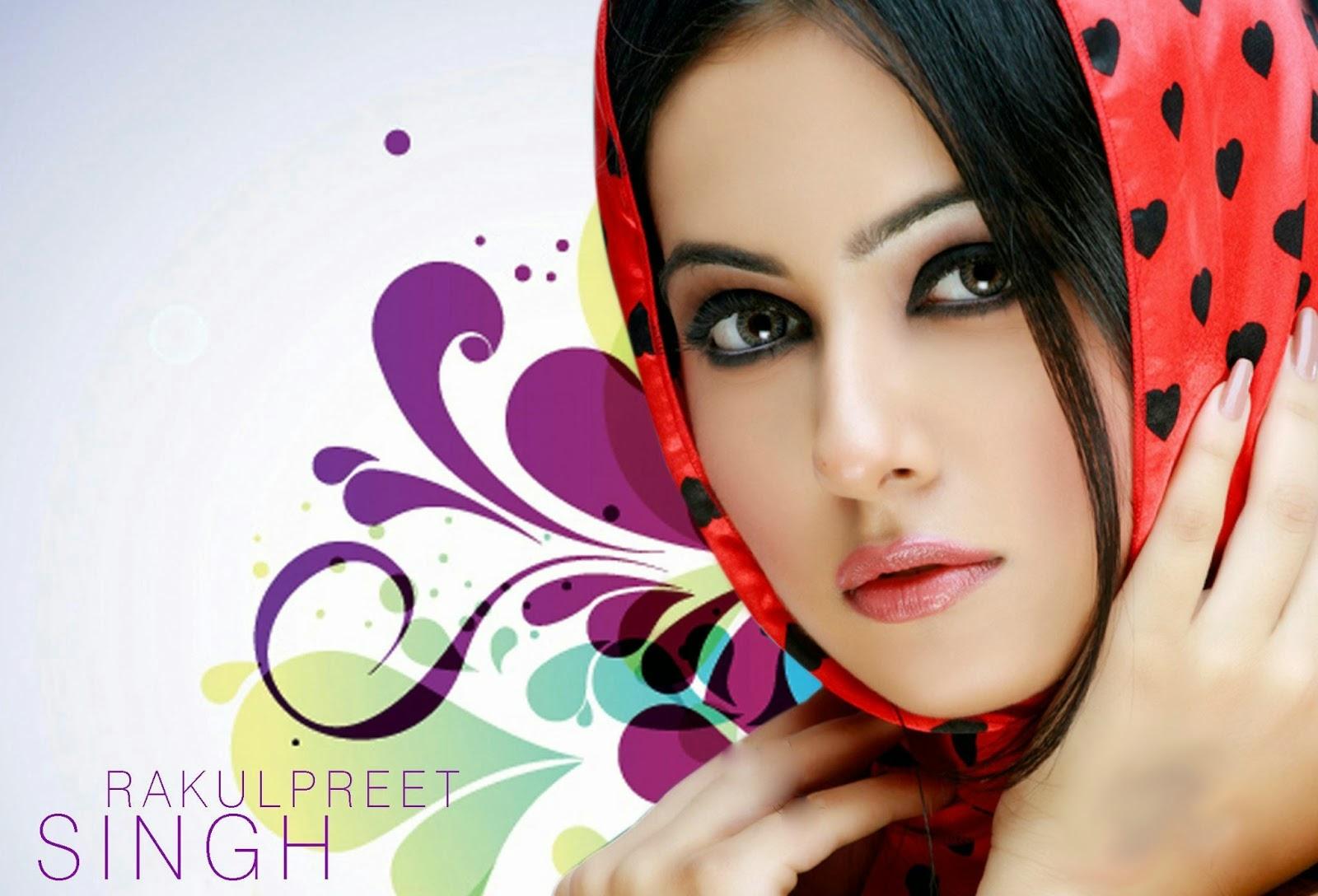 South Indian Hot Girl Rakul Preet Singh Beautiful HQ HD Wallpapers