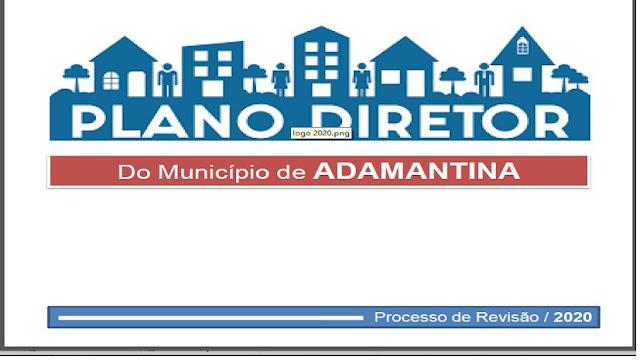 Prefeitura de Adamantina realiza audiência pública para discussão da revisão do Plano Diretor