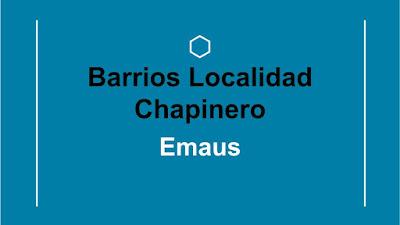 emaus barrio chapinero