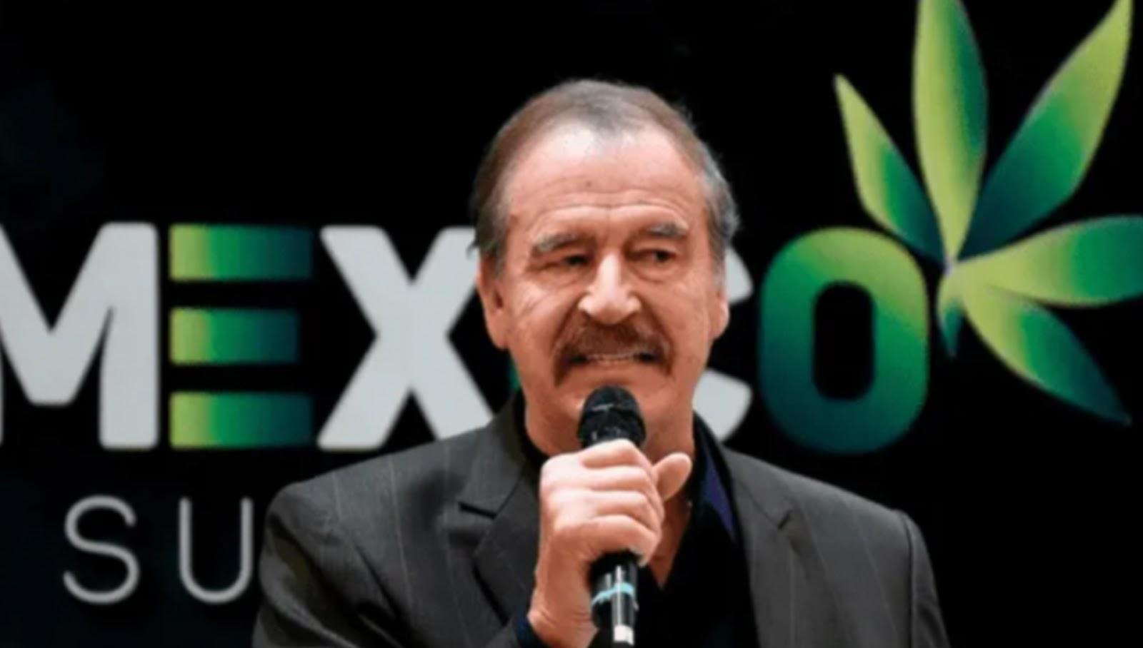 Vicente Fox se asocia con empresa que distribuirá PRODUCTOS de mariguana en destinos TURÍSTICOS