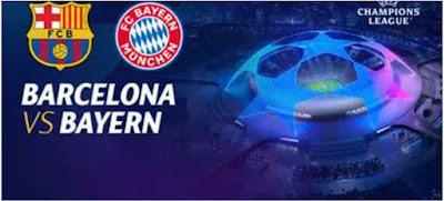 Link Streaming Nonton Barcelona vs Bayern Munchen Liga Champion Malam Ini Disiarkan Dimana TV Online dan SCTV