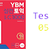 Listening YBM Practice TOEIC LC 1000 - Test 05