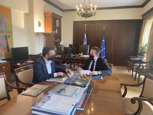 Τι συζητησε ο Δημαρχος Επιδαύρου με τον Αναπληρωτή Υπουργό Εσωτερικών
