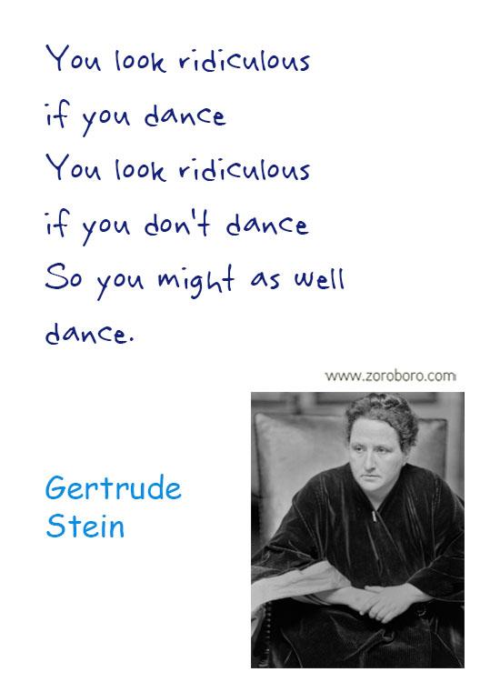 Gertrude Stein Quotes. Genius Quotes, Gertrude Stein Humor Quotes, Knowledge Quotes, Gertrude Stein Wisdom Quotes, Gertrude Stein Books Quotes, Reading Quotes. Gertrude Stein