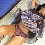 Andrea Rincon, Selena Spice Galeria 15: Vestido Cafe, Falda a Cuadros Foto 97