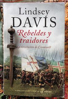 Portada del libro Rebeldes y traidores, de Lindsey Davis