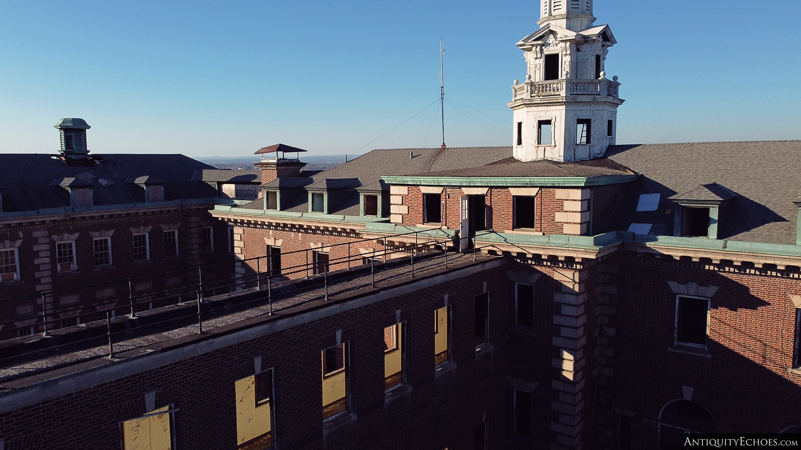 Allentown State Hospital - Removed Windows