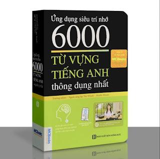 Sách - Ứng dụng siêu trí nhớ 6000 từ vựng tiếng Anh thông dụng nhất (Tái bản) ebook PDF-EPUB-AWZ3-PRC-MOBI