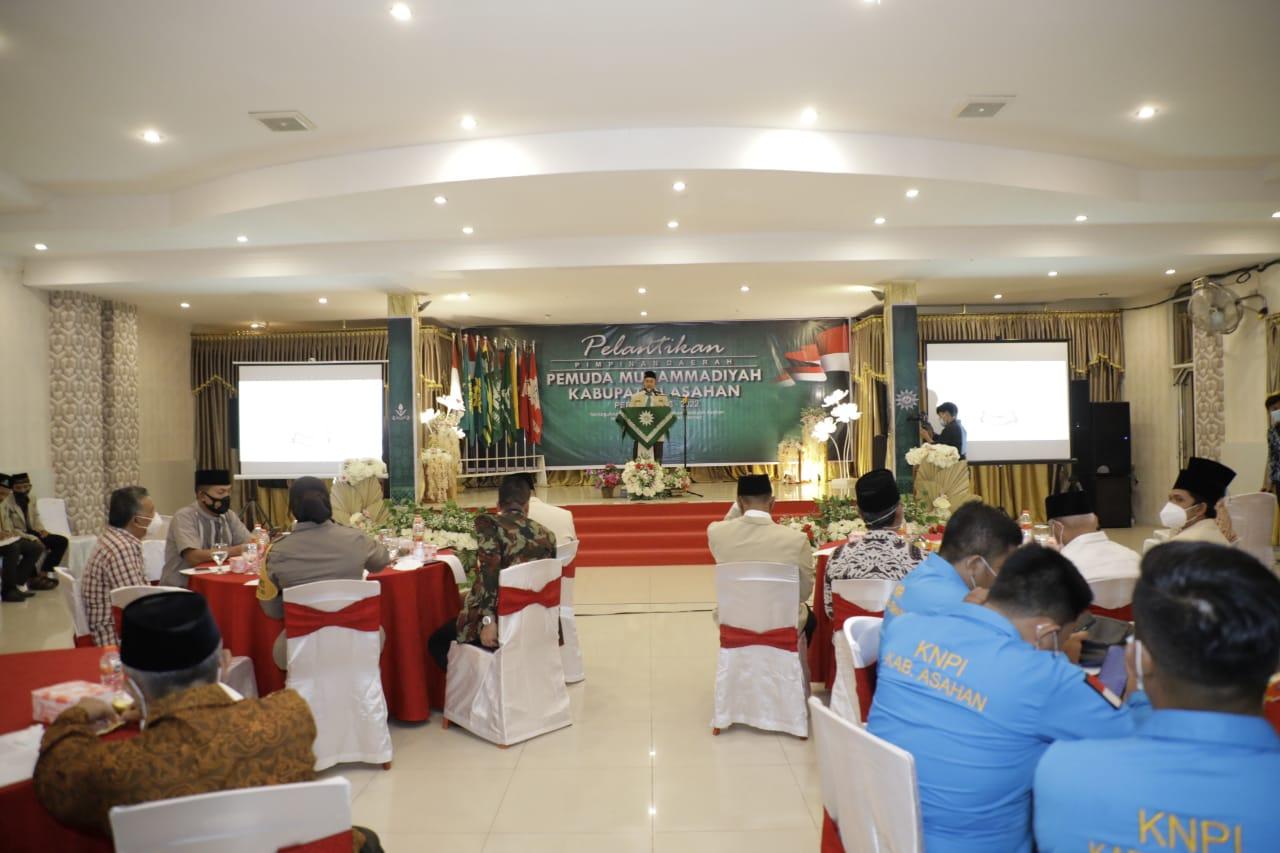 Bupati Asahan Hadiri Pelantikan Pengurus Daerah Pemuda Muhammadiyah Kabupaten Asahan