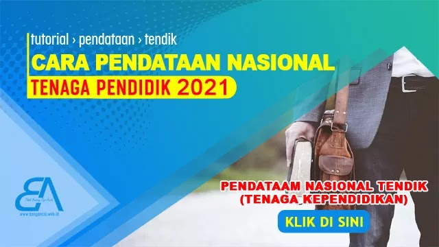 Cara Pendataan Nasional Tendik 2021