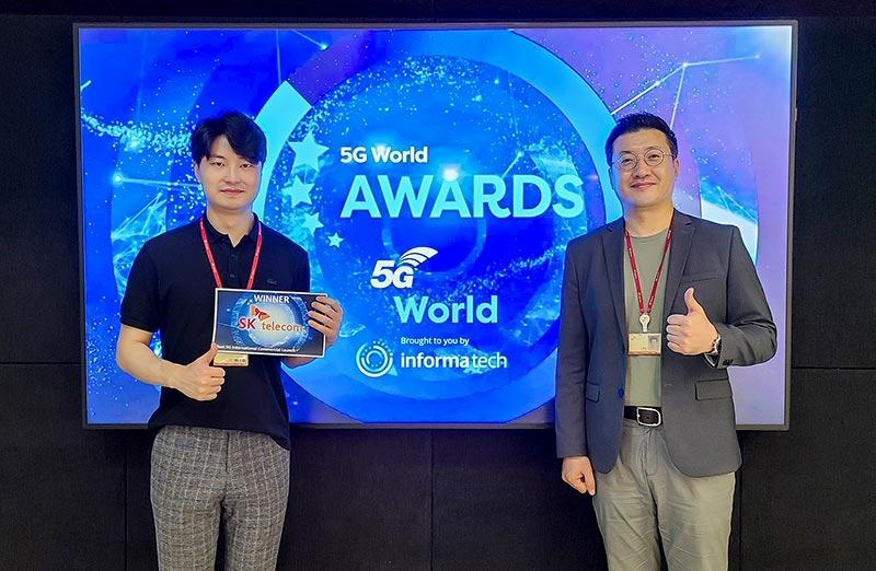 SKT, 영국 '5G 월드 어워드 2020'에서 '최우수 5G 상용화' 부문 수상