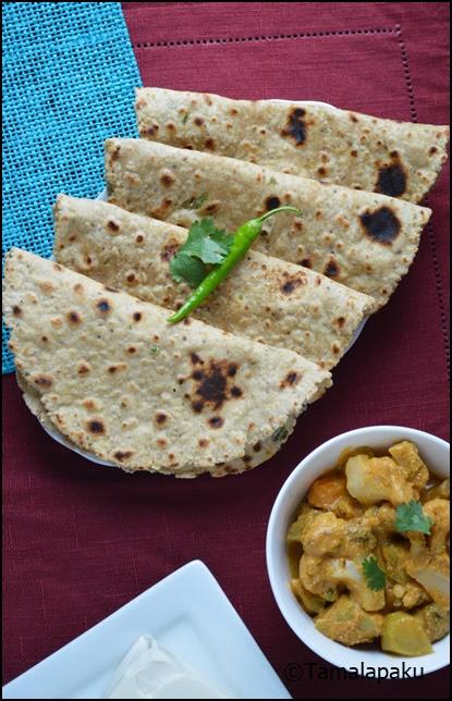 Oats-Tofu Paratha