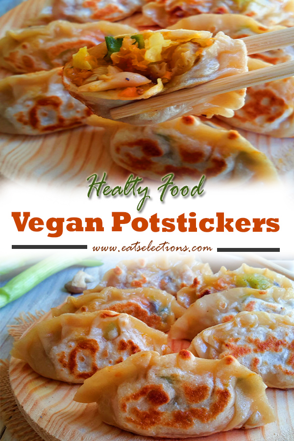 Vegan Potstickers | Capitalize homemade dumpling wrappers and some vegetable fillings. You will succeed in making Vegan Potstickers for your family at home. #recipes #dinner #vegan #healthyfood