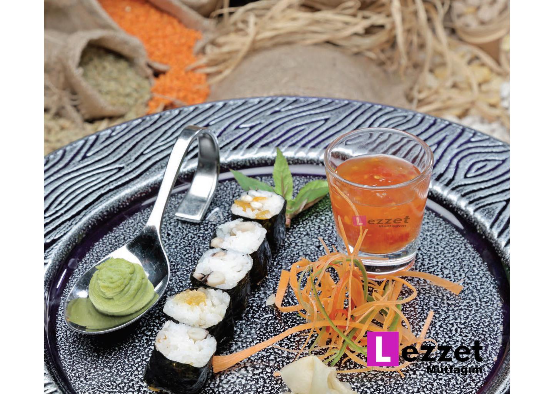 Nefis Maş Fasulyeli Sushi Tarifi