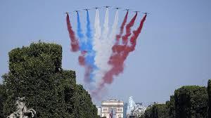 Sherwoodskogen Frankrikes Nationaldag 14 Juli
