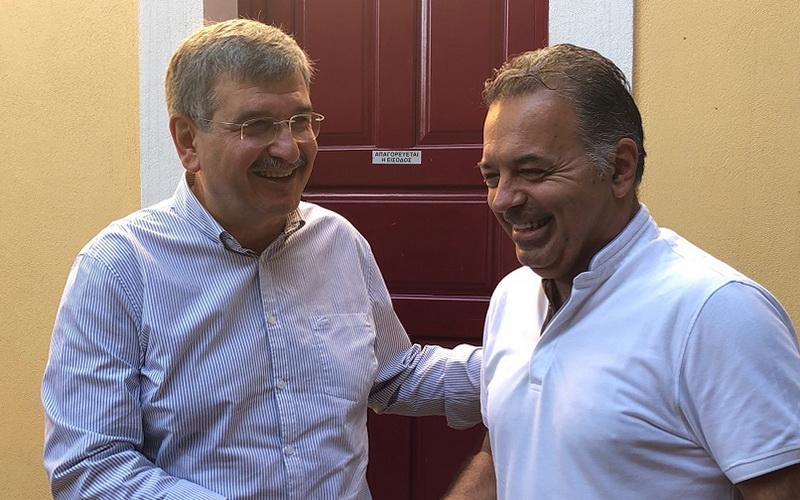 Με τον Πρόεδρο της Πανελλήνιας Ένωσης Καππαδοκικών Σωματείων συναντήθηκε ο Μενέλαος Μαλτέζος