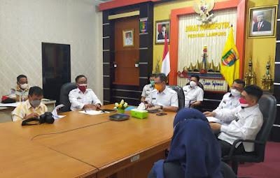 Sekdaprov Lampung Sosialisasikan Seleksi CASN Pemprov Lampung Tahun 2021