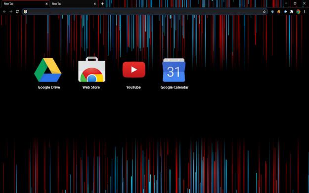 Redline Chrome Theme