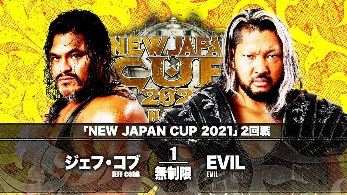 Cobertura: NJPW New Japan Cup 2021 – Day 06 – Reencarnação!