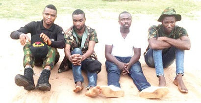 Nigerian Army deserters who kidnapped an undergraduate from Imo and killed him in Anambra have arrested