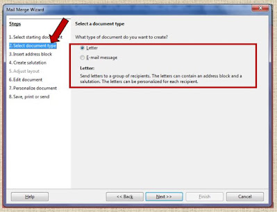 select document type