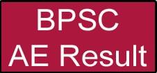 BPSC AE Result