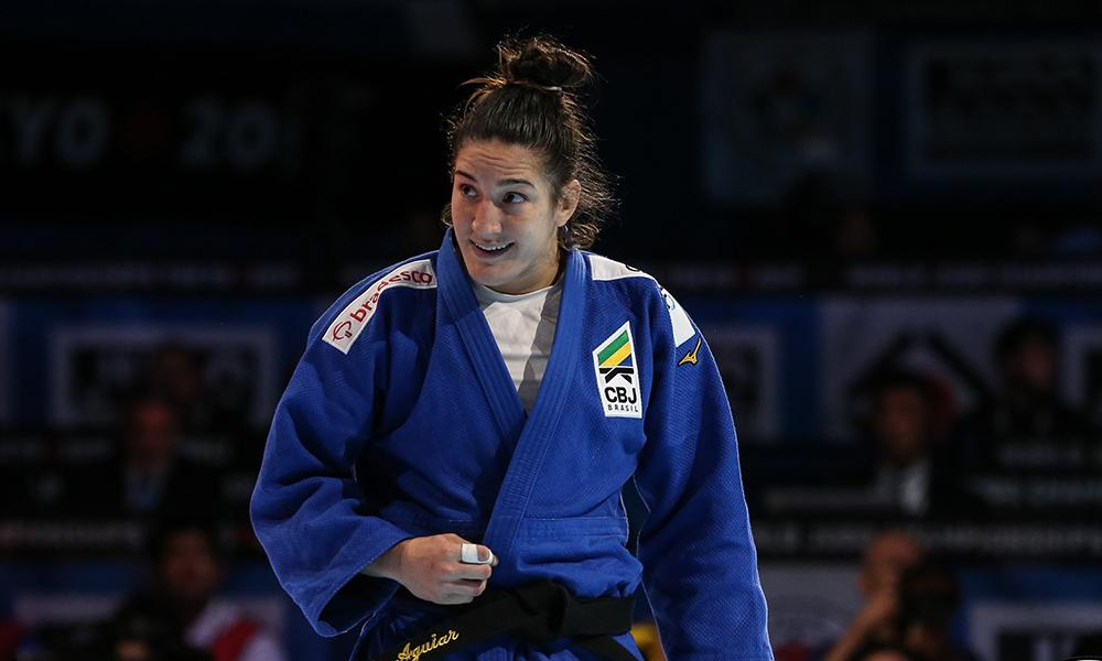 Mayra Aguiar é a única judoca brasileira com duas medalhas olímpicas