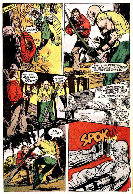 The Flash v1 #219 dc comic book page art by Neal Adams