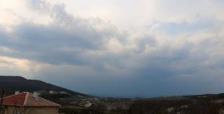 Rainstorm incoming