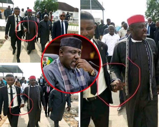 Iberiberism Father, Rochas Okorocha Suffers Stroke After Failing To Secure Apc Governorship Ticket For Son-in-law