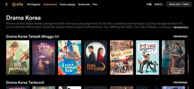 Website Untuk Nonton Drama Korea Sub Indonesia Streaming Drakor Terbaru 2020