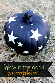 Glow in the Dark Pumpkin with Duck Tape