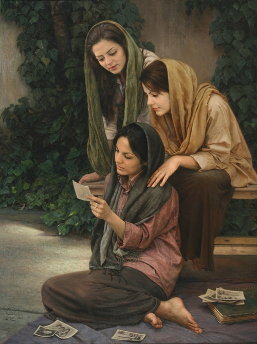 15-The-Old-Album-Iman-Maleki-Realistic-Paintings-that-Portray-Intense-Expressions-www-designstack-co