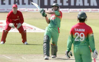 Shakib Al Hasan 4-21 - Zimbabwe vs Bangladesh 2nd T20I 2013 Highlights