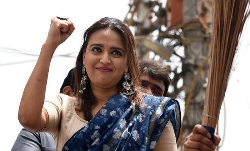 BJP सांसद ने स्वरा भास्कर से मांगी माफ़ी  - newsonfloor.com