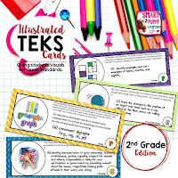 https://www.teacherspayteachers.com/Product/Second-Grade-TEKS-Illustrated-and-Organized-820126