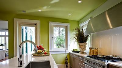 Cara Memutuskan Warna Apa untuk Mengecat Dapur