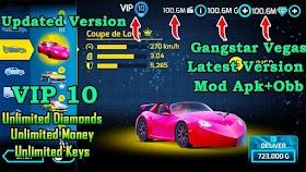 Download Gangstar Vegas Mod Hack apk 4.4.0