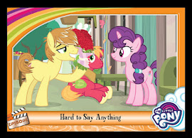 My Little Pony Hard to Say Anything Series 5 Trading Card