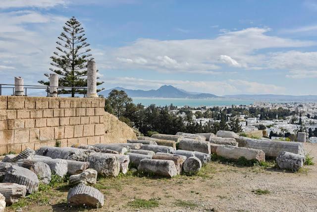تعد زيارة أنقاض قرطاج من أفضل الأماكن للزيارة في تونس